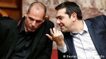 Ελλάδα Γιάννης Βαρουφάκης & Αλέξης Τσίπρας (Φωτογραφία: Reuters)
