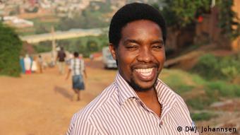 Portrait of John Bajeneza. Photo: Jesko Johannsen