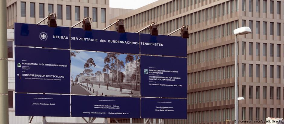 Nova sede do BND em Berlim: mudança está programada para 2017