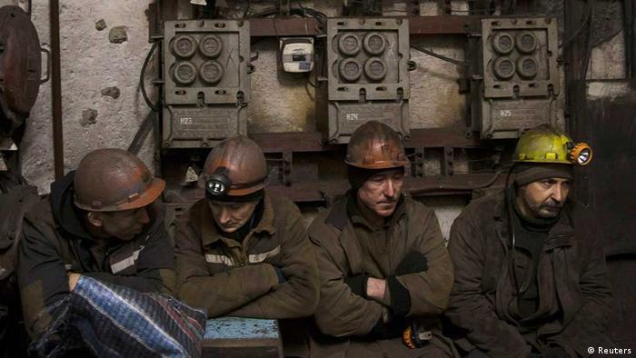 Ukraine / Mine / Grubenunglück / Donbass