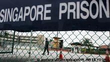 Deutsche Leipzig Gefängnis Singapur Prügelstrafe Urteil