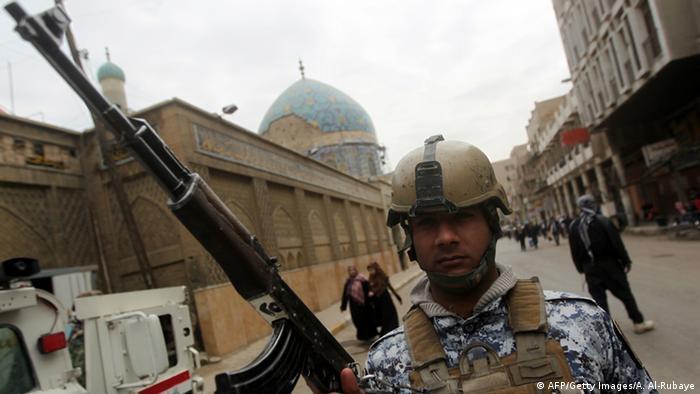 Irak Anschlag auf Moschee in Bagdad