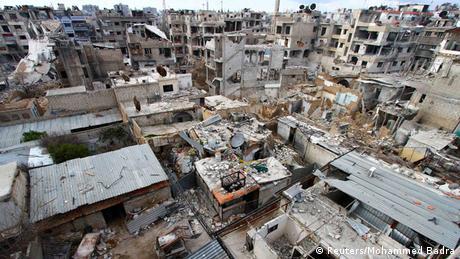 Syrien Zerstörung tägliche Angriffe Leid Bevölkerung