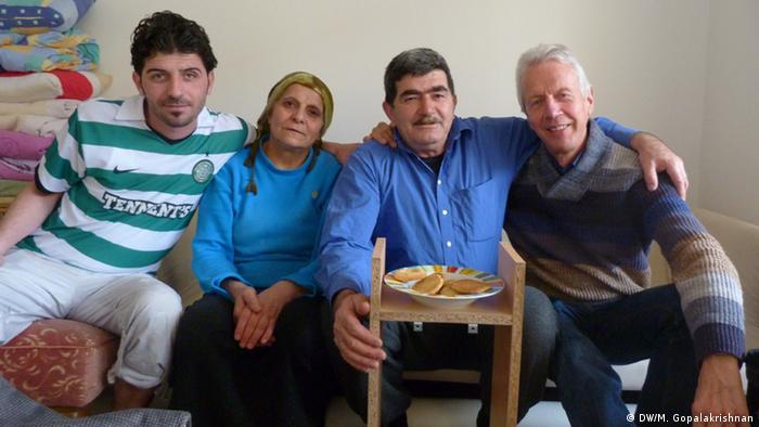 Zalukh, Hussein, Mohammed und Wedig von Heyden (Syrien)