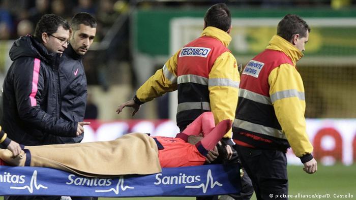 Spanien FC Barcelona Verletzung Sergio Busquets