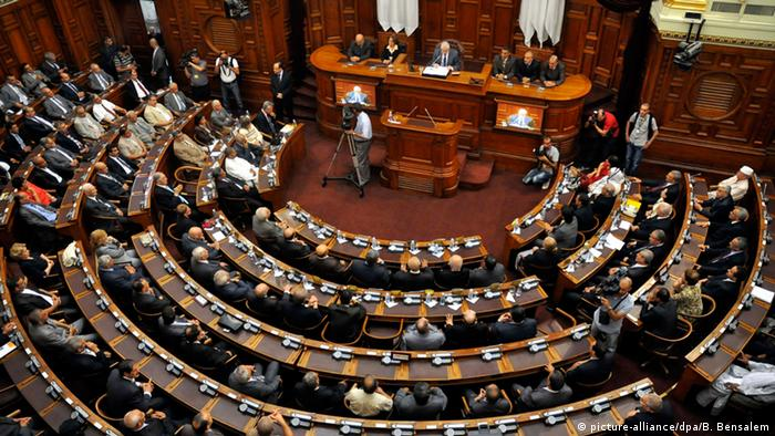 Algerien Parlament (picture-alliance/dpa/B. Bensalem)