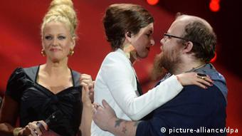 ESC final in Hannover. Copyright: Jochen Luebke/dpa