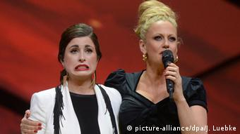 ESC national qualification night in Hannover. Copyright: Jochen Luebke/dpa