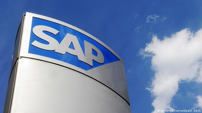 Deutschland Logo von Softwarehersteller SAP in Walldorf