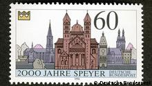 Kaiserdom zu Speyer Briefmarke Deutsche Post