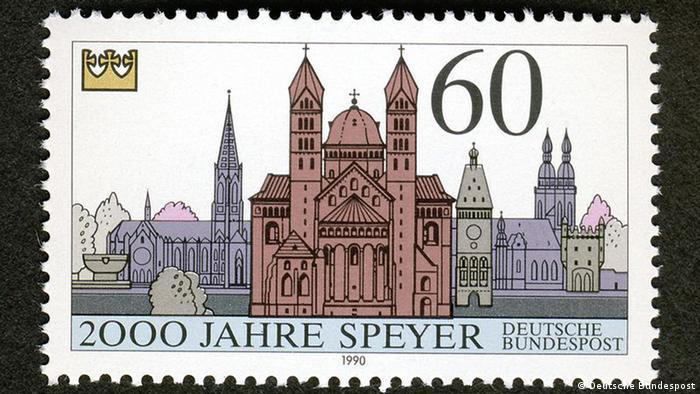 Почтовая марка 1990 года
