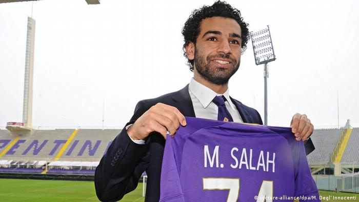 Italien Fußballspieler Mohamed Salah (picture-alliance/dpa/M. Degl' Innocenti)