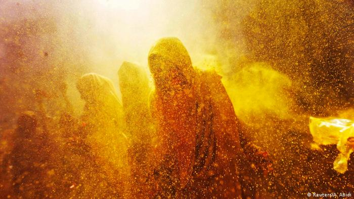 Holi Fest in Indien 2015 (Reuters/A. Abidi)