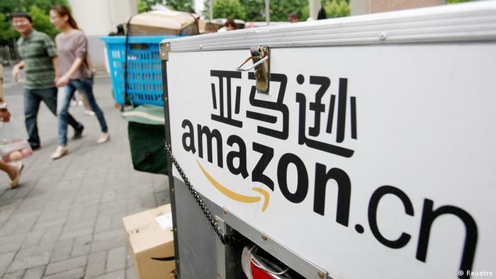Logotipo da Amazon China