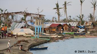 Philippinen Katastrophengebiet Provinz Leyte nach Taifun Haiyan
