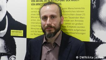 Сергей Лукашевский - глава Сахаровского центра в Москве