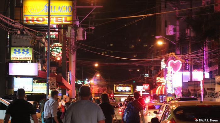 Philippinen Rotlichtviertel von Manila