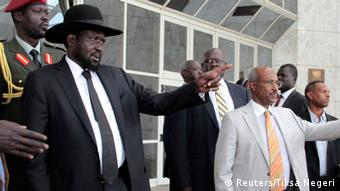 Salva Kiir after the breakdown of peace talks in March 2015