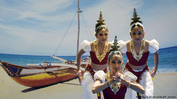 Berlin ITB Tourismusmesse Sri Lanka (picture-alliance/dpa/R. Jensen)