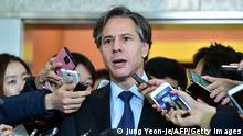 Südkorea Seoul US Vizeaußenminister Antony Blinken