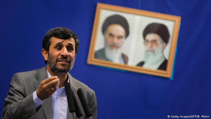 Iran Teheran Rede Mahmud Ahmadinedschad