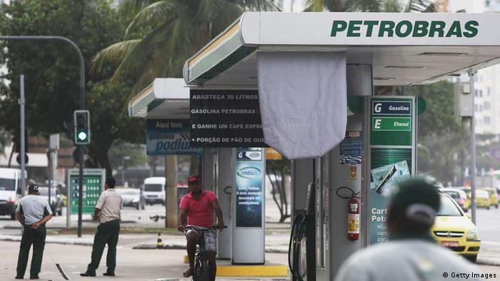 Petrobras-Tankstelle in Rio de Janeiro (Foto: Getty Images)