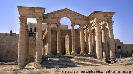 Irak Al-Hadra Kulturstätte