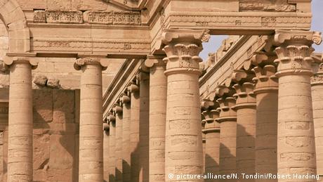 Irak Al-Hadra Kulturstätte Tempel Mrn