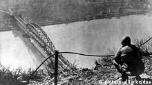 Deutschland 2. Weltkrieg Brücke von Remagen