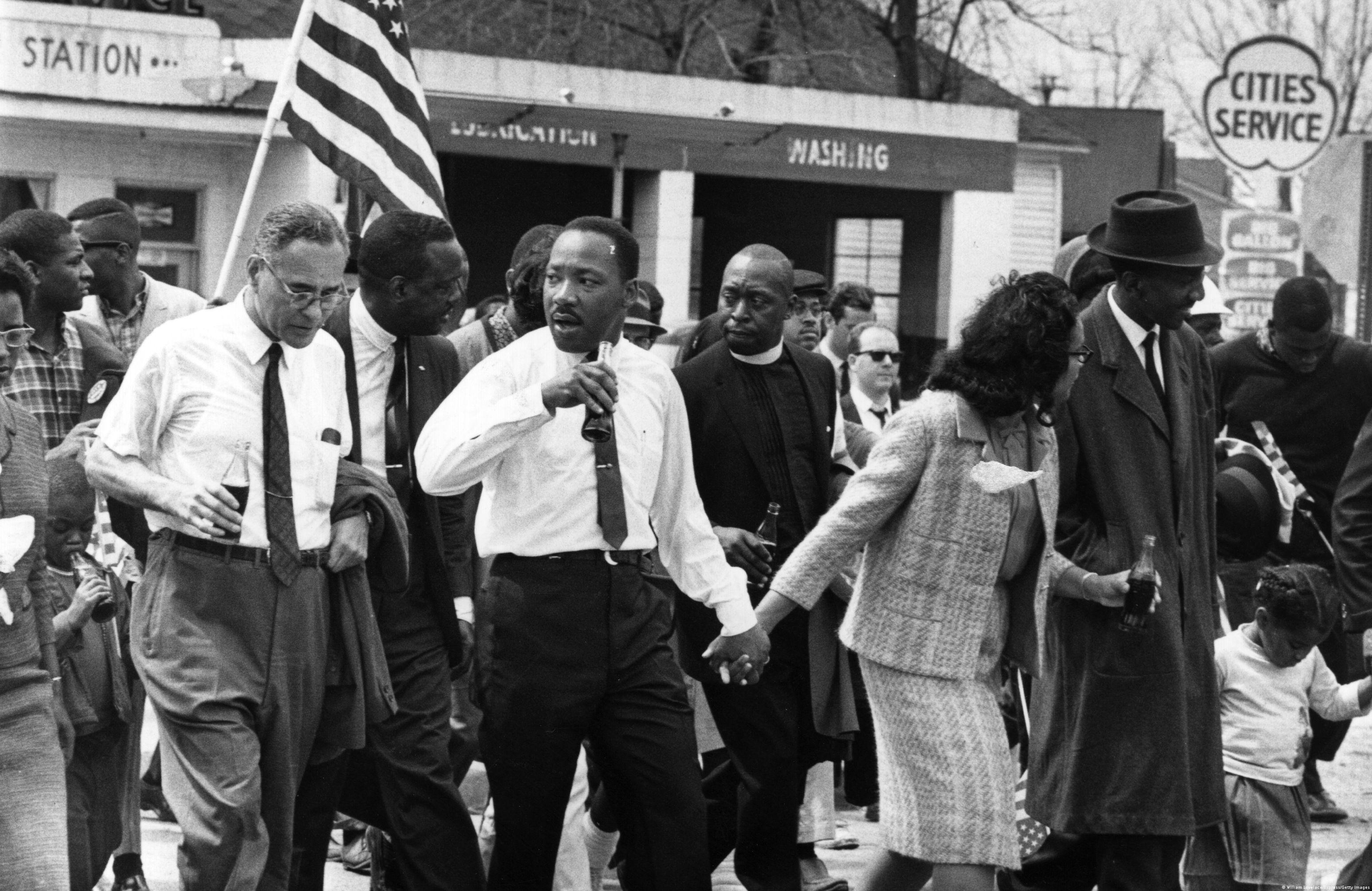Martin Luther King und seine Frau Coretta Scott King in Selma, Alabama (Foto: William Lovelace/Express/Getty Images)