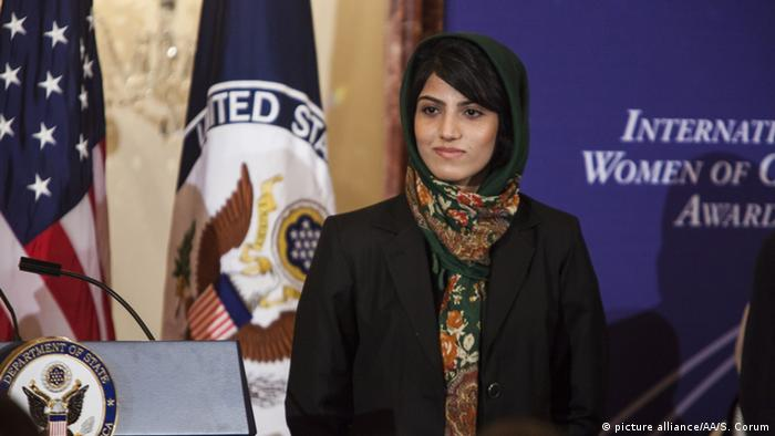 USA Washington 2015 International Women of Courage Award Niloofar Rahmani
