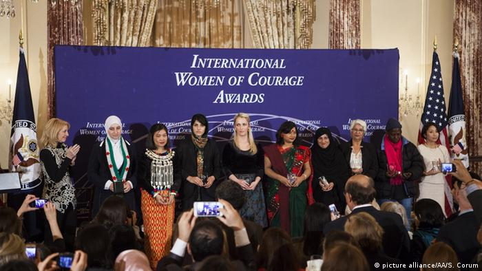 USA Washington 2015 International Women of Courage Award