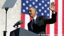 USA Selma 50. Jahrestag Blutiger Sonntag von 1965 Präsident Obama