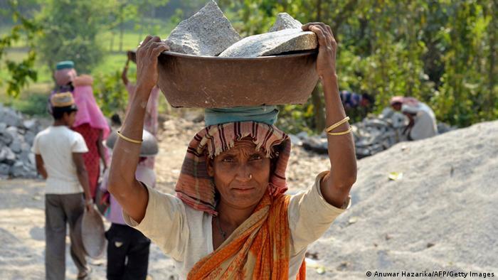 Indien Frauenarbeit Symbolbild Internationaler Frauentag