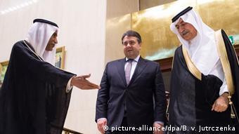 Savezni ministar gospodarstva Sigmar Gabriel s arapskim čelnicima