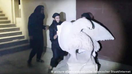 Irak Zerstörung Museum in Mossul