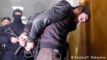 Russland Moskau Verdächtiger Festnahme Boris Nemzow