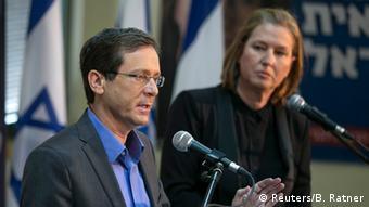 Izchak Herzog und Zipi Livni (Photo: REUTERS/Baz Ratner)