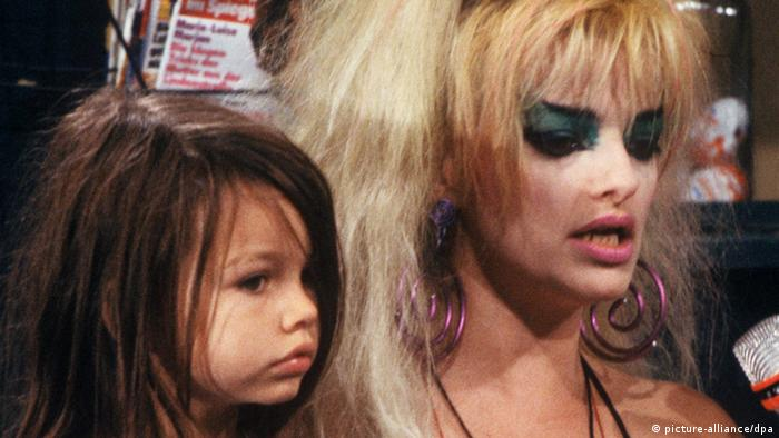 Nina Hagen and daughter Cosma Shiva