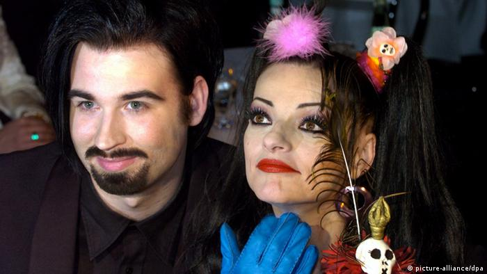 Nina Hagen and Rocco Breinholm