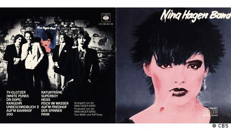 The cover of an album by Nina Hagen (CBS)