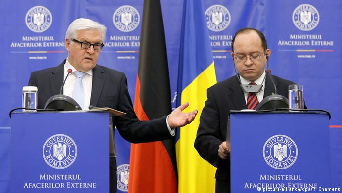 German Foreign Minister Steinmeier Says Violence Falling In Eastern