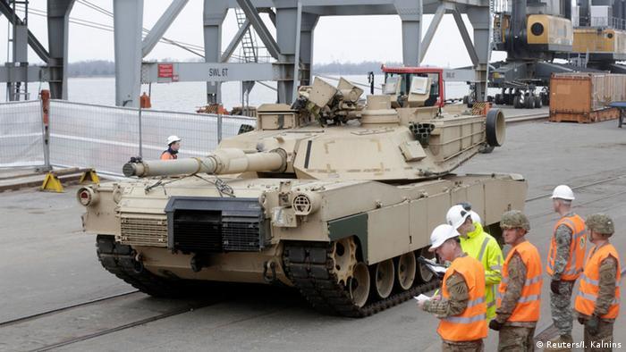 Lettland, Übergabe von US-Militärtechnik