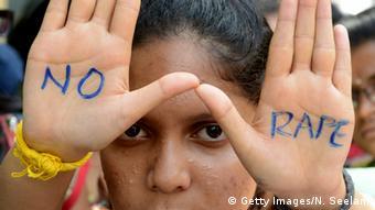 Symbolbild - Proteste gegen Vergewaltigungen in Indien