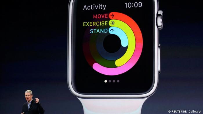 USA, Präsentation der Apple Watch