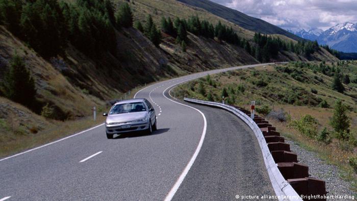 Symbolbild Neuseeland Fahren