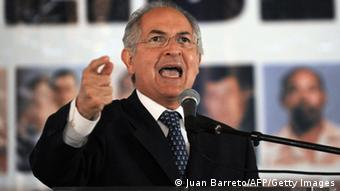 Antonio Ledezma, opositor exalcalde metropolitano de Caracas.