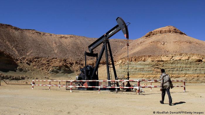 Libyen Al-Ghani Ölfeld