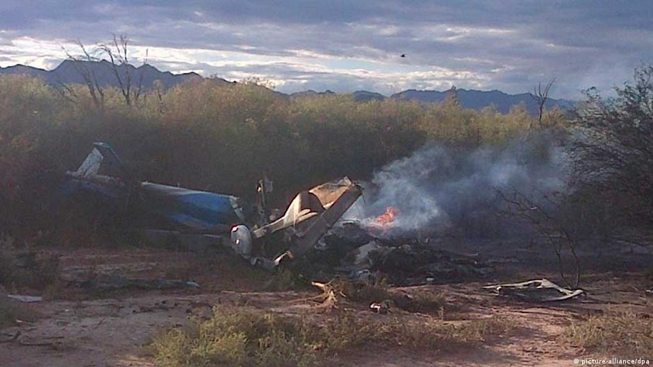 Hubschrauber-Absturz in Argentinien