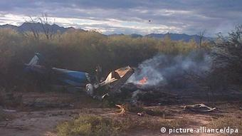 Helicopter crash in Argentina